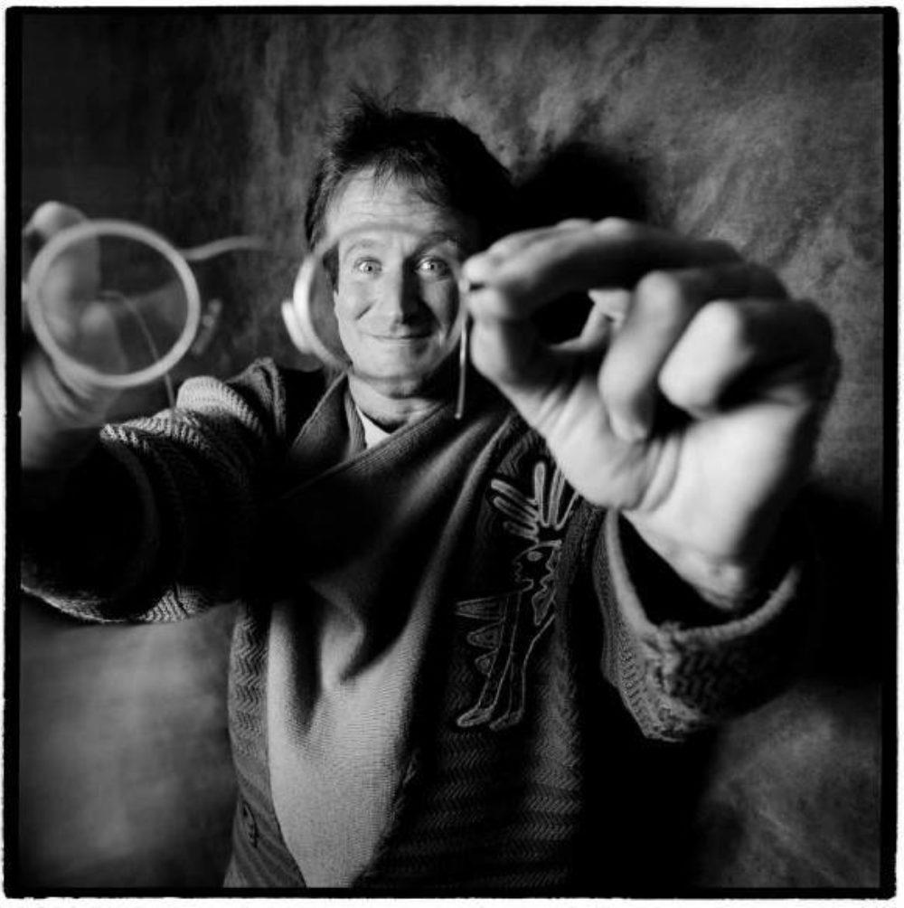 Robin Williams - (Photo copyright Karen Kuehn)-Robin Williams - (Photo copyright Karen Kuehn)