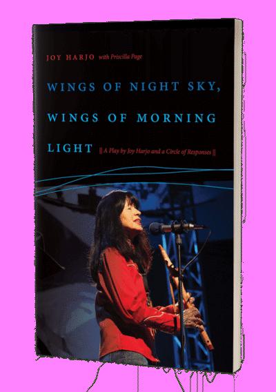 Wings of night sky wings of morning light pb
