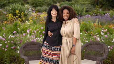 First Look: Oprah Sits Down With Joy Harjo